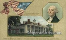 pol001314 - George Washington, 1st President USA, Political, Old Vintage Antique Postcard Post Card