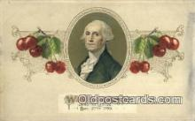 pol001315 - George Washington, 1st President USA, Political, Old Vintage Antique Postcard Post Card