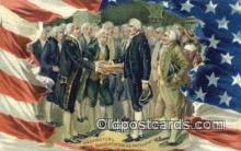 pol001319 - George Washington, 1st President USA, Political, Old Vintage Antique Postcard Post Card