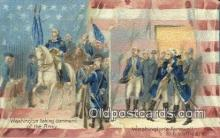 pol001331 - George Washington, 1st President USA, Political, Old Vintage Antique Postcard Post Card
