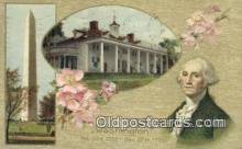 pol001333 - George Washington, 1st President USA, Political, Old Vintage Antique Postcard Post Card