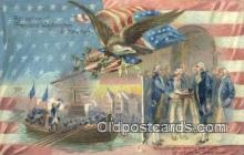 pol001336 - George Washington, 1st President USA, Political, Old Vintage Antique Postcard Post Card