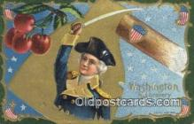 pol001337 - George Washington, 1st President USA, Political, Old Vintage Antique Postcard Post Card