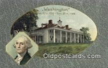 pol001346 - George Washington, 1st President USA, Political, Old Vintage Antique Postcard Post Card
