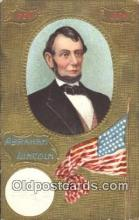 pol016041 - Abe Lincoln 16th USA President Postcard Postcards