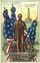 pol016048 - Abe Lincoln 16th USA President Postcard Postcards