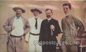pol026026 - Theodore Roosevelt 26th USA President Postcard Postcards