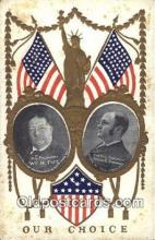 pol027023 - William Taft 27th USA President Postcard Postcards