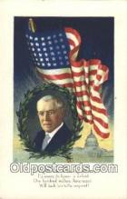 pol028003 - Woodrow Wilson 28th USA President Postcard Postcards