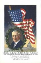 pol028010 - Woodrow Wilson 28th USA President Postcard Postcards