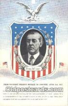 pol028011 - Woodrow Wilson 28th USA President Postcard Postcards