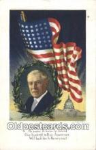 pol028012 - Woodrow Wilson 28th USA President Postcard Postcards