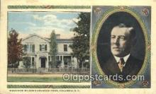 pol028016 - Columbia, S.C., Usa Woodrow Wilson 28th USA President Postcard Postcards