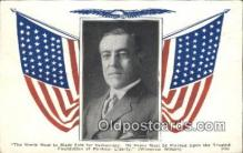pol028018 - Woodrow Wilson 28th USA President Postcard Postcards