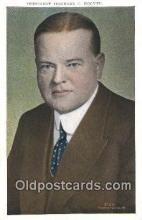 pol031002 - Herbert Hoover 31st USA President Postcard Postcards