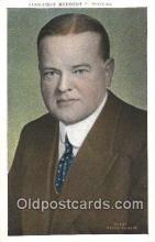pol031003 - Herbert Hoover 31st USA President Postcard Postcards