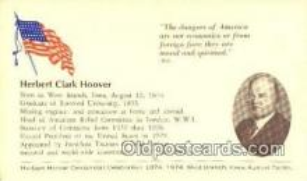 pol031005 - Herbert Hoover 31st USA President Postcard Postcards