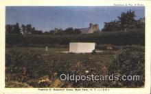 pol032005 - Hyde Park, New York, Usa Franklin D Roosevelt 32nd USA President Postcard Postcards