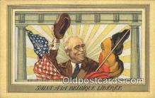 pol032007 - Franklin D Roosevelt 32nd USA President Postcard Postcards