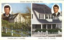 pol035002 - The kennedy Compound John F. Kennedy 35th USA President Postcard Postcards