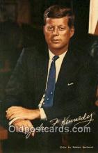 pol035009 - John F. Kennedy 35th USA President Postcard Postcards