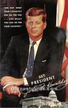pol035407 - John F Kennedy Postcard