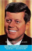 pol035412 - John F Kennedy Postcard