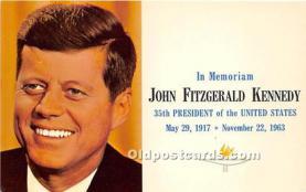 pol035414 - John F Kennedy Postcard