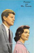 pol035416 - John F Kennedy Postcard