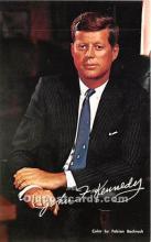 pol035417 - John F Kennedy Postcard