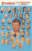 pol035419 - John F Kennedy Postcard
