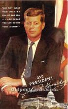pol035420 - John F Kennedy Postcard