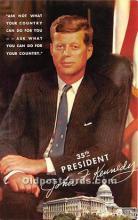 pol035421 - John F Kennedy Postcard