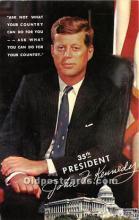 pol035422 - John F Kennedy Postcard