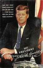 pol035423 - John F Kennedy Postcard