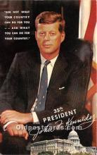 pol035425 - John F Kennedy Postcard