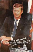 pol035426 - John F Kennedy Postcard
