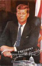 pol035427 - John F Kennedy Postcard