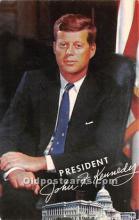 pol035429 - John F Kennedy Postcard