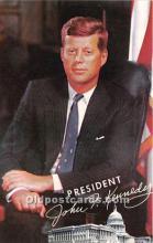 pol035430 - John F Kennedy Postcard