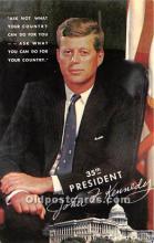 pol035431 - John F Kennedy Postcard
