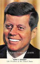 pol035440 - John F Kennedy Postcard