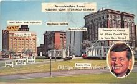 pol035448 - John F Kennedy Postcard