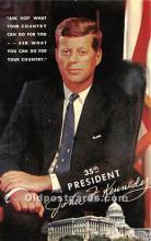 pol035457 - John F Kennedy Postcard