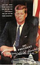 pol035461 - John F Kennedy Postcard
