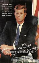 pol035464 - John F Kennedy Postcard