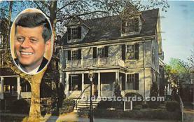 pol035470 - John F Kennedy Postcard
