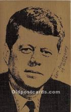 pol035474 - John F Kennedy Postcard