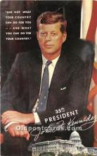 pol035491 - John F Kennedy Postcard