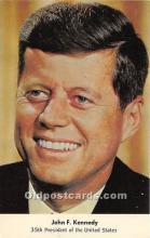 pol035494 - John F Kennedy Postcard